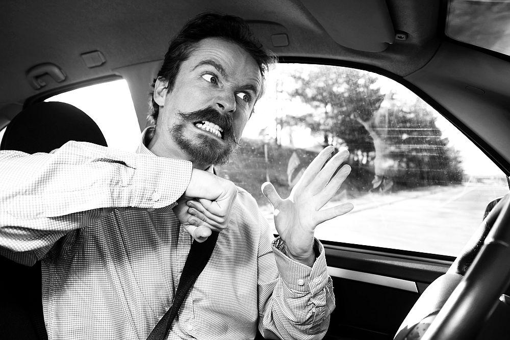 Pykčio valdymo receptai agresyviems vairuotojams