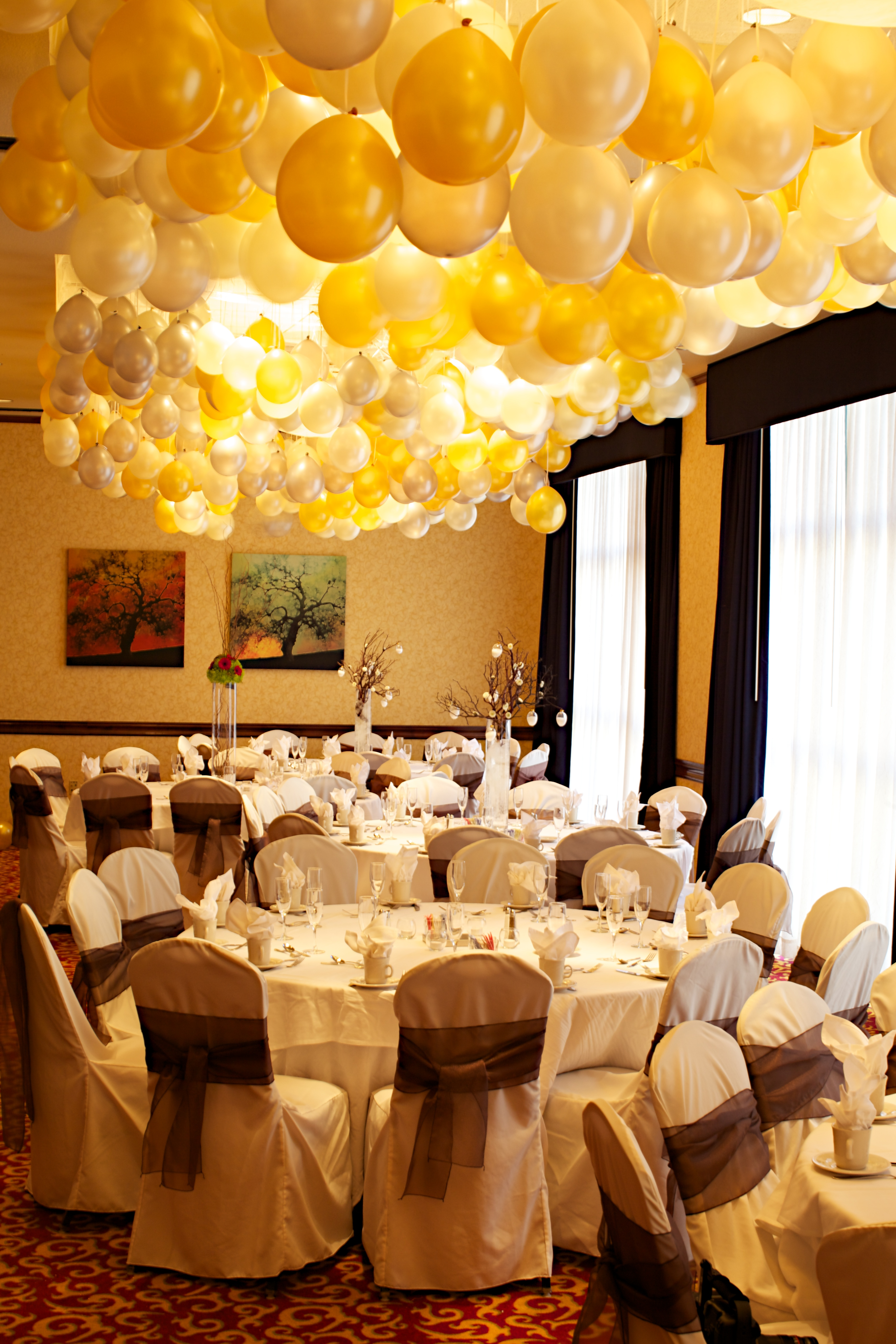 vestuviu dekoras balionais